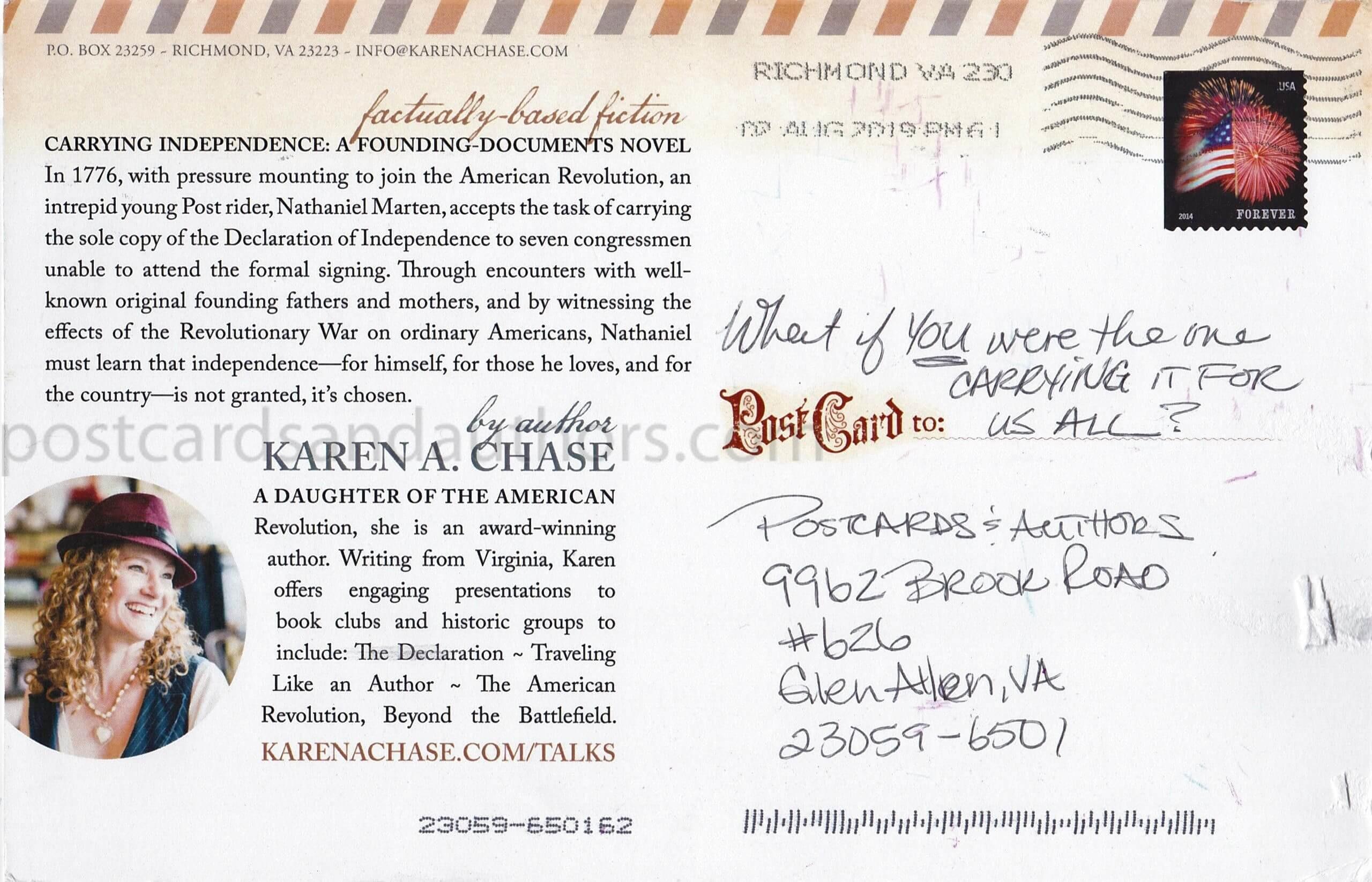 Karen A. Chase 1T
